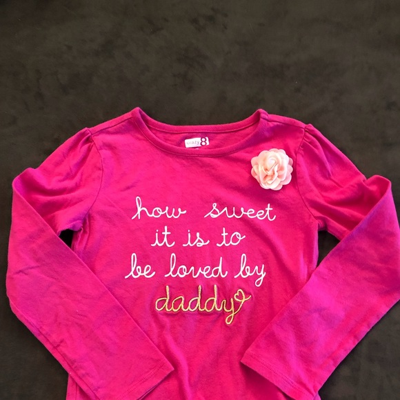 2f34f4c28749 Crazy 8 Shirts & Tops | Girls Long Sleeve Graphic Tee 5t | Poshmark